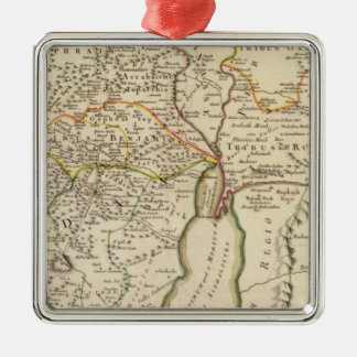 Israel and Palestine Christmas Ornament