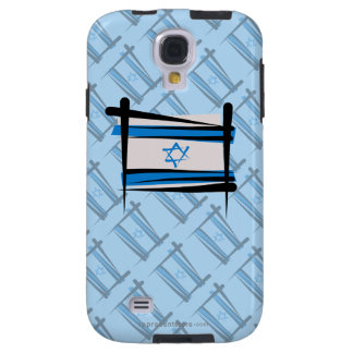 Israel Brush Flag Galaxy S4 Case