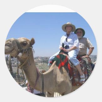 ISRAEL CLASSIC ROUND STICKER