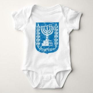 Israel Coat Of Arms Baby Bodysuit