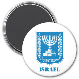 Israel Coat of Arms Kitchen Magnet