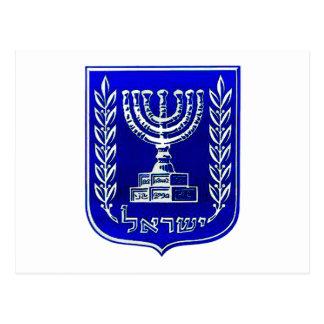 Israel Crest Postcard