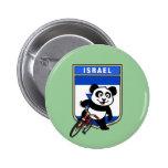Israel Cycling Panda 6 Cm Round Badge