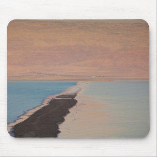 Israel, Dead Sea, Ein Bokek, Dead Sea, dusk 2 Mouse Mat