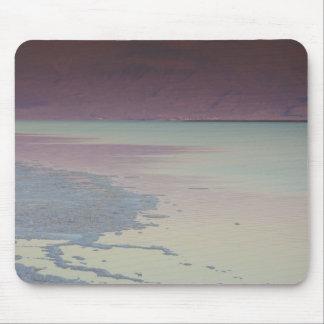 Israel, Dead Sea, Ein Bokek, Dead Sea, dusk Mouse Mat