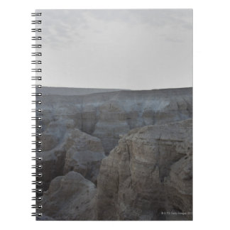 Israel, Dead Sea, rock formations Spiral Notebook