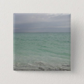 Israel, Dead Sea, seascape 15 Cm Square Badge