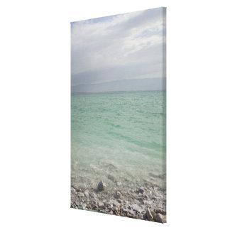 Israel, Dead Sea, seascape Canvas Print