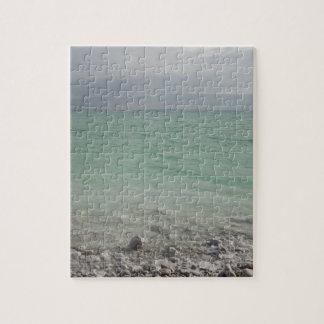 Israel, Dead Sea, seascape Jigsaw Puzzle