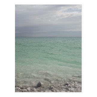 Israel, Dead Sea, seascape Postcard