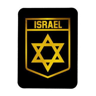 Israel Emblem Magnet