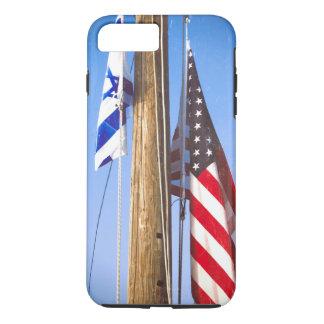 Israel Flag and American Flag iPhone 8 Plus/7 Plus Case