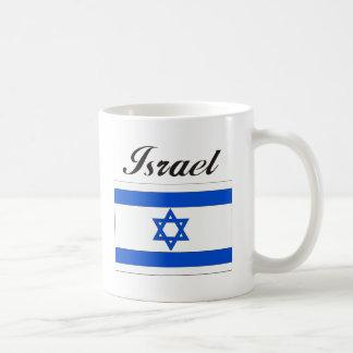 Israel Flag Basic White Mug