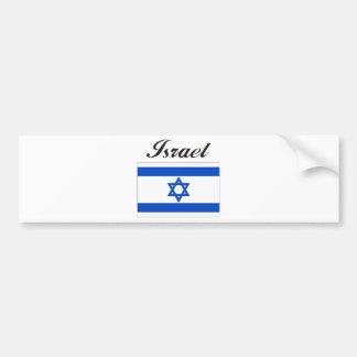 Israel Flag Bumper Sticker
