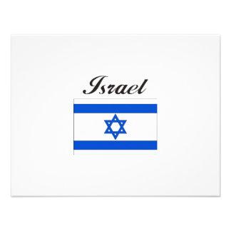 Israel Flag Invites