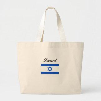 Israel Flag Jumbo Tote Bag