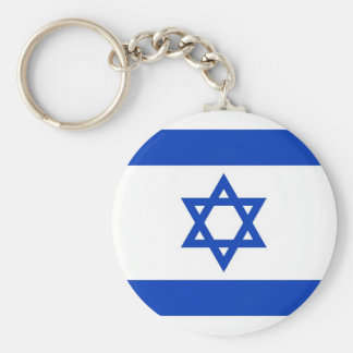Israel Flag Key Ring