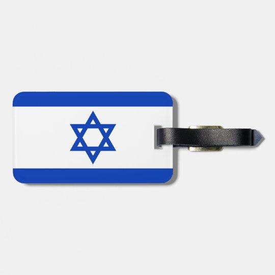 Israel Flag Luggage Tag