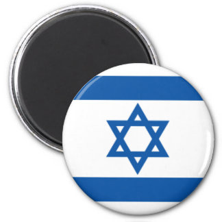 Israel Flag 6 Cm Round Magnet