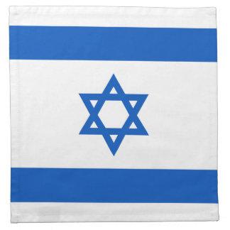 Israel Flag Napkin