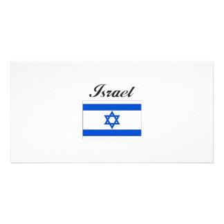 Israel Flag Photo Greeting Card