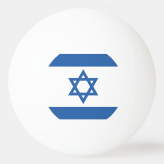 Israel Flag Ping Pong Ball