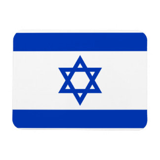 Israel Flag Rectangular Photo Magnet