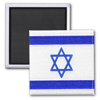 Israel Flag Square Magnet