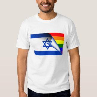Israel Gay Pride Rainbow Flag Shirt