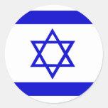 Israel High quality Flag Round Sticker