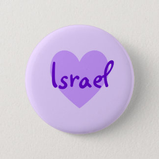 Israel in Purple 6 Cm Round Badge