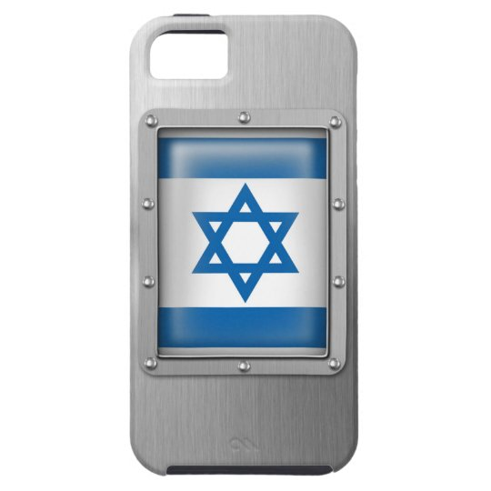 Israel in Stainless Steel Tough iPhone 5 Case