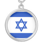 Israel, Israel flag Personalized Necklace