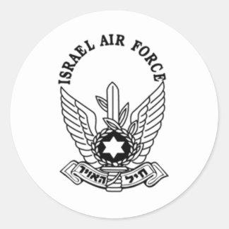 Israel Israeli Army ZAHAL Air Force Emblem Round Sticker
