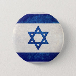 Israel; Israeli Flag 6 Cm Round Badge