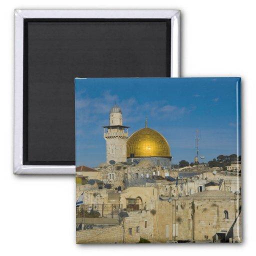 Israel, Jerusalem, Dome of the Rock Fridge Magnets