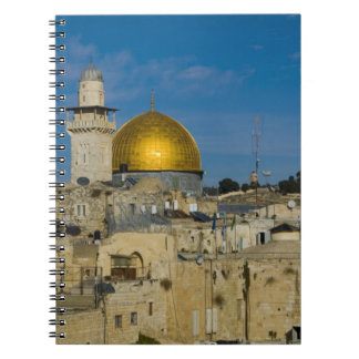 Israel, Jerusalem, Dome of the Rock Spiral Note Book