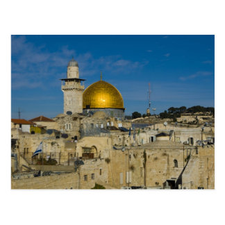 Israel, Jerusalem, Dome of the Rock Postcard