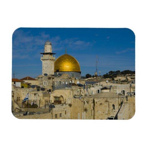 Israel, Jerusalem, Dome of the Rock Vinyl Magnet
