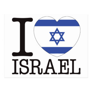 Israel Love v2 Postcards