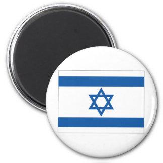 Israel National Flag 6 Cm Round Magnet