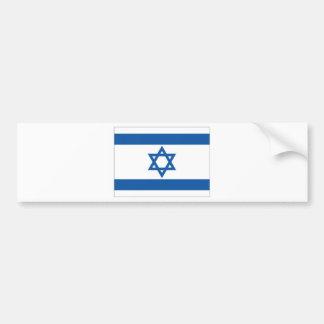 Israel National Flag Bumper Sticker