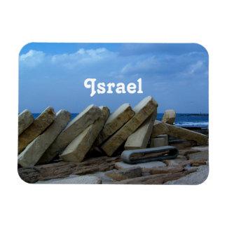 Israel Rectangular Magnet