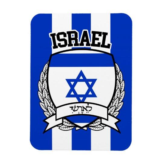 Israel Rectangular Photo Magnet