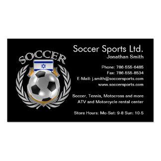Israel Soccer 2016 Fan Gear Pack Of Standard Business Cards