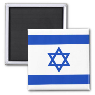 Israel - Star of David Square Magnet