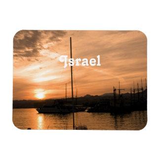 Israel Sunset Vinyl Magnets