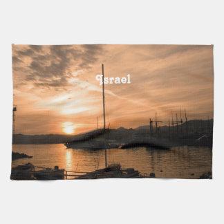 Israel Sunset Tea Towel