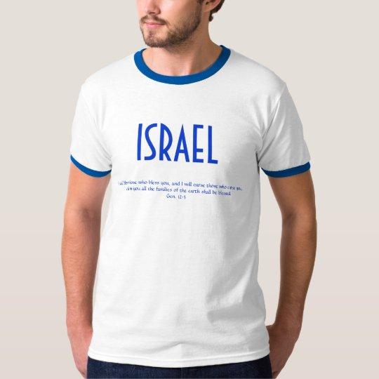 Israel T-Shirt w/Scripture Verse