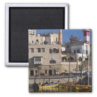 Israel, Tel Aviv, Jaffa, Jaffa Old Port Fridge Magnets